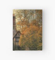 Tudor in Autumn Hardcover Journal