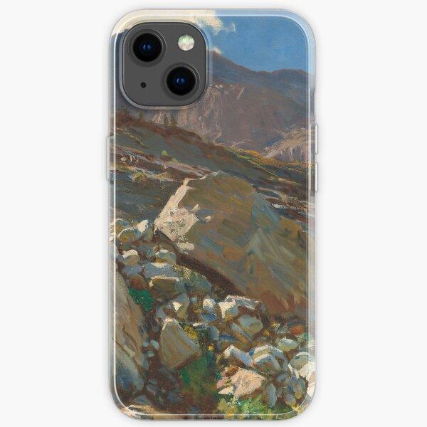 John Singer Sargent Simplon Pass 1911 Painting iPhone Soft Case