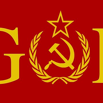 GOP - Treason - Soviet Hammer and Sickle by Thelittlelord