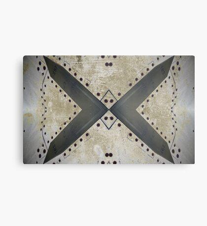 Aviation abstract Metal Print