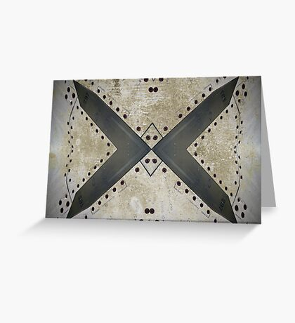 Aviation abstract Greeting Card