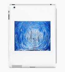 Deep Frozen Woods Original Painting iPad Case/Skin