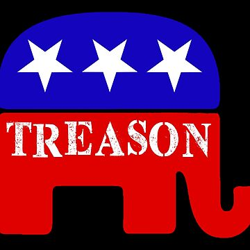 GOP Treason Elephant Mascot by Thelittlelord