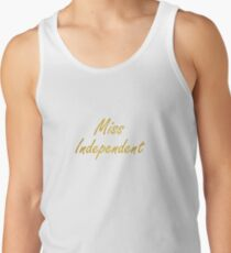 Ne-Yo - Miss Independent Tank Top