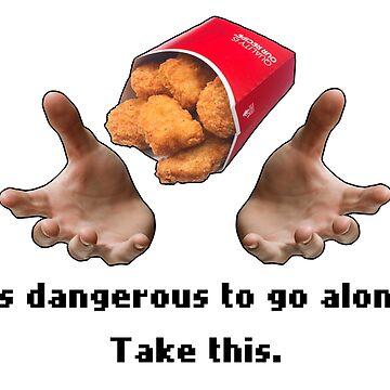 Bestowed chicken nuggets by Zeeph