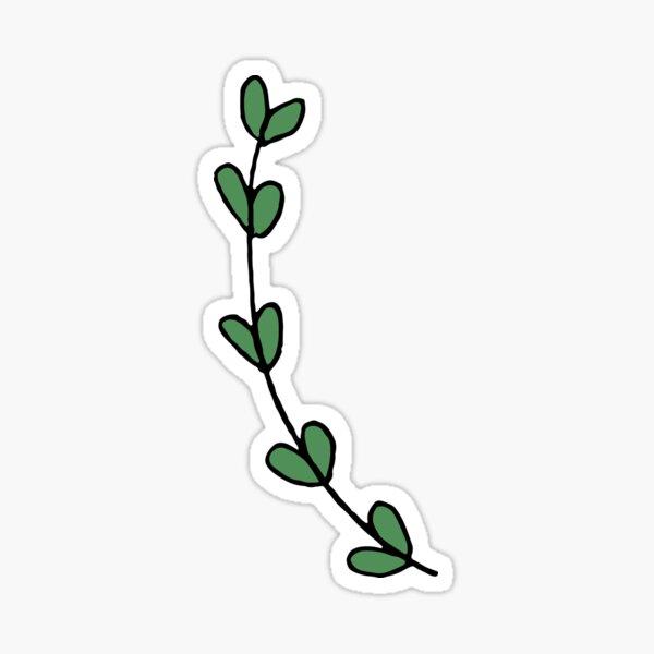 laurel leaves Sticker