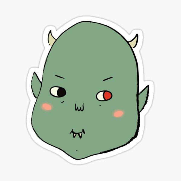 monster baby Sticker