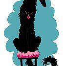 Borzoi Princess Black by Happy Dog Swag