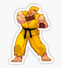 Street Fighter Third Strike - Yellow Ken Sticker