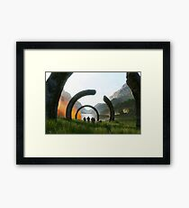 Halo Infinite Framed Print