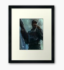 Johnson Halo Framed Print