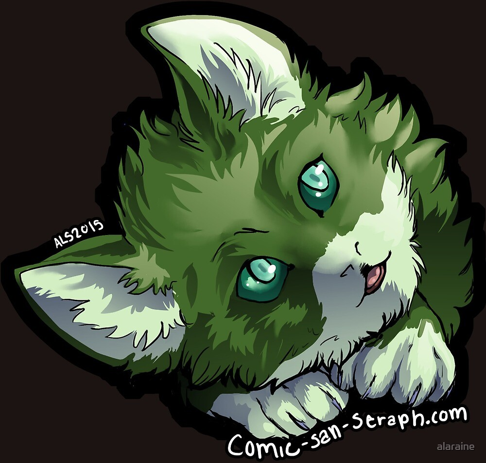 Ferrin Pup by alaraine