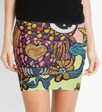 Mystical Owl Mini Skirt