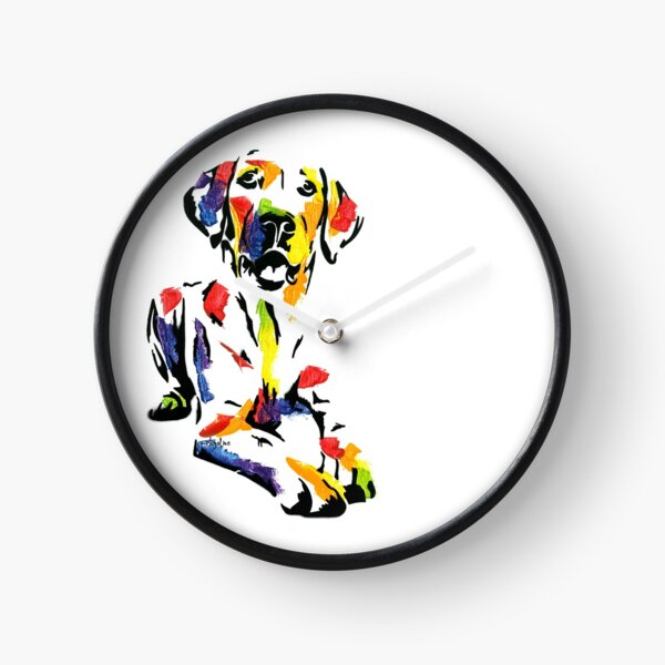Darling II the Labrador *dark Clock