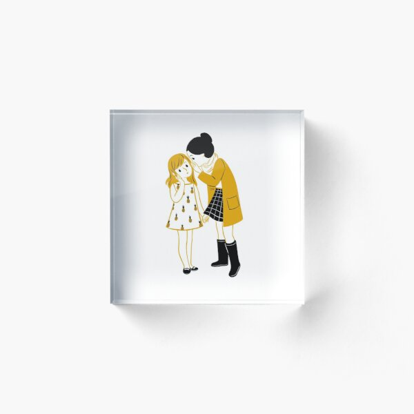 Secrets Between Friends Acrylic Block