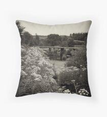 Clapper Bridge 2 Throw Pillow