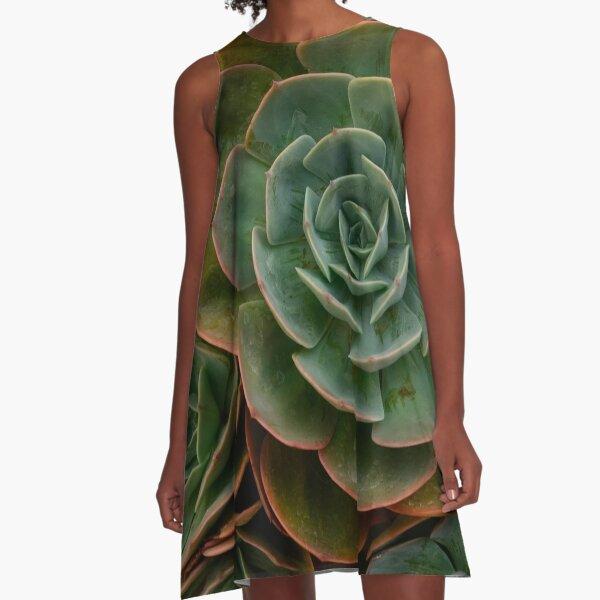 Succulent 2 A-Line Dress