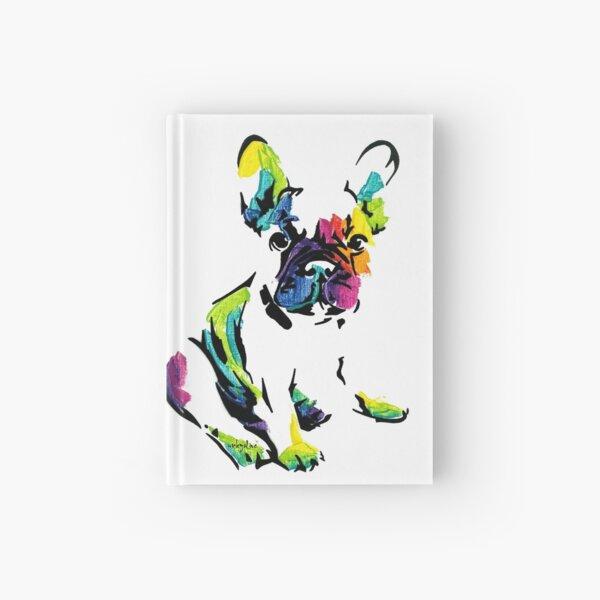 Sacha Maree I the French Bulldog *dark Hardcover Journal