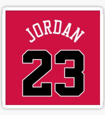 Michael Jordan Jersey Bag Sticker