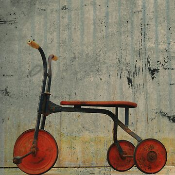 Little Red Trike by PeterCulley