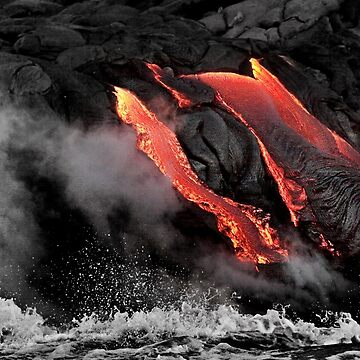 Lava Flow at Kalapana 6 by alex4444