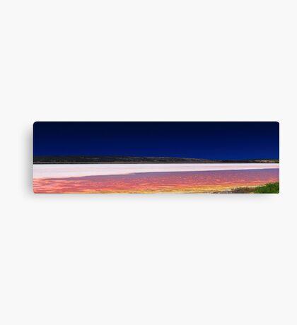 Hutt Lagoon - Western Australia  Canvas Print