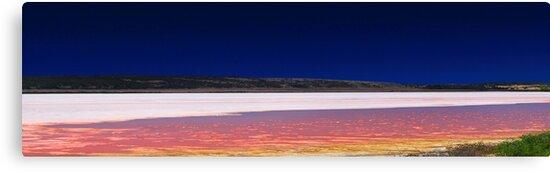 Hutt Lagoon - Western Australia  by EOS20