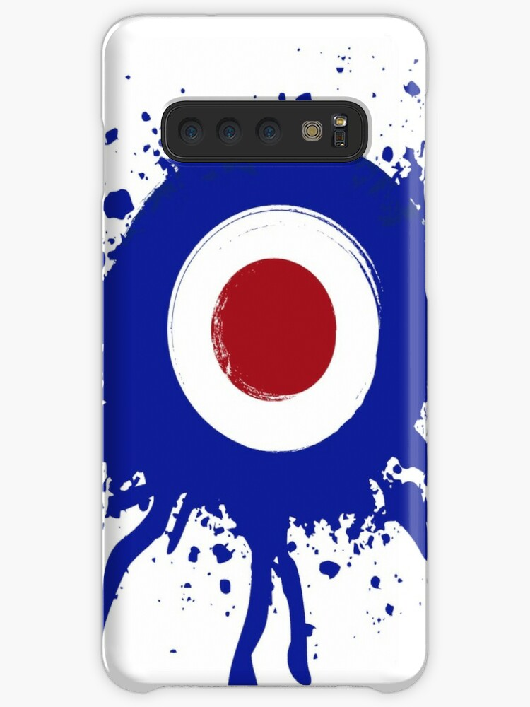 another chance 6477e cf86f 'Paint splattered mod target' Case/Skin for Samsung Galaxy by Auslandesign