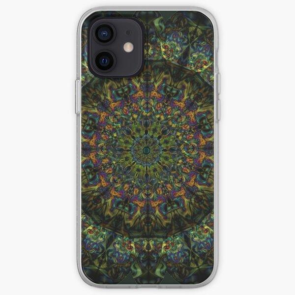 Fractal Mandala iPhone Soft Case