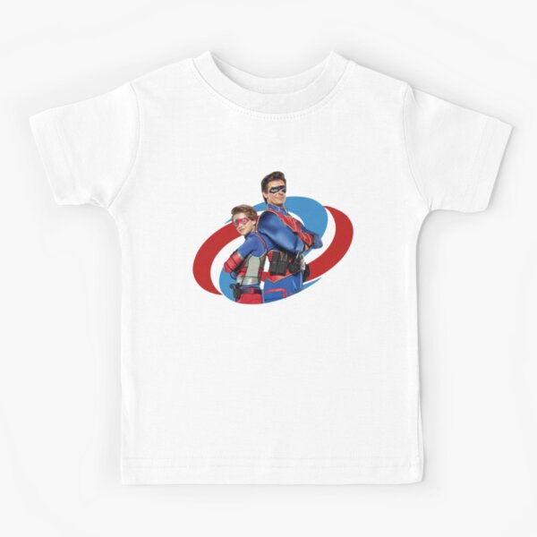 Capitaine Man et Kid Danger T-shirt enfant