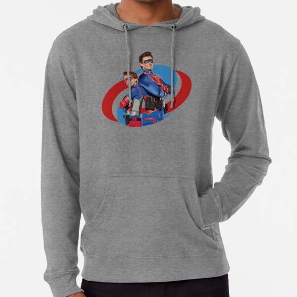 Capitán Man y Kid Danger Sudadera ligera con capucha