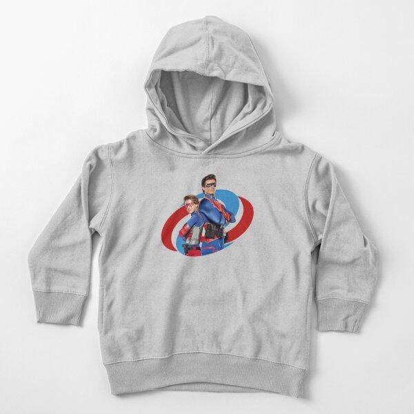 Capitán Man y Kid Danger Sudadera con capucha para bebé