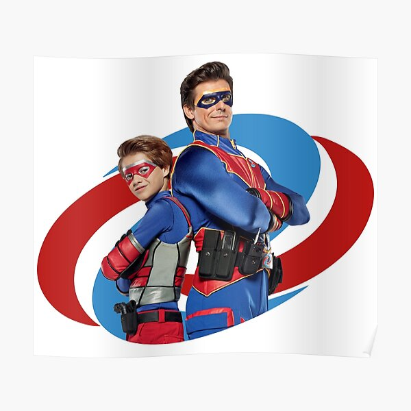 Capitán Man y Kid Danger Póster