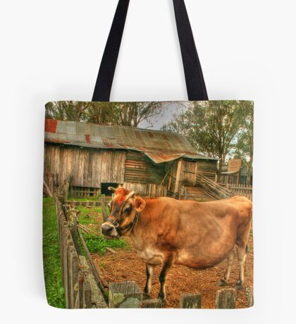 A cow of a shot ! Tote Bag