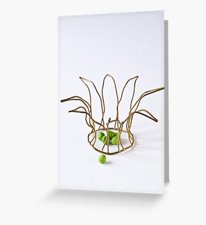 Peas Greeting Card