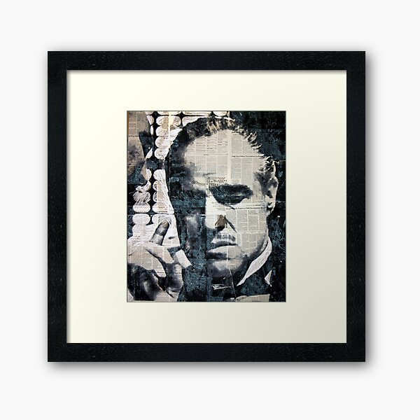 The Offer He Couldn't Refuse... Framed Art Print