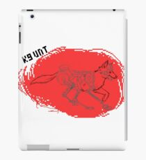 K9 UNT iPad Case/Skin