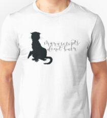 Master and Margarita, Manuscripts Don't Burn, Behemoth Silhouette Unisex T-Shirt