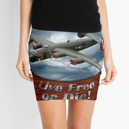 B-24 Liberator Fear No Evil Mini Skirt