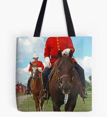 Mounties Always Get Their Man Tote Bag