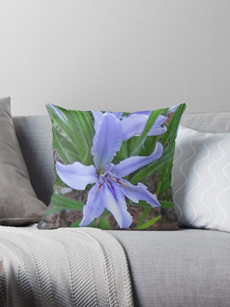 Babiana - South African flower - Tote bag by Lee Jones