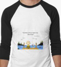 charlie brown Men's Baseball ¾ T-Shirt