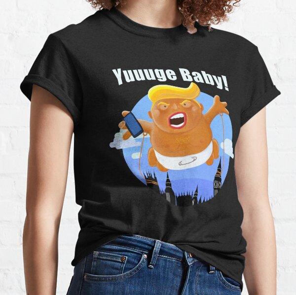 Trump Baby Blimp Yuuuge UK State Visit 2019 Classic T-Shirt
