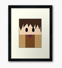 Doctor Who: 10th Doctor!  Framed Print