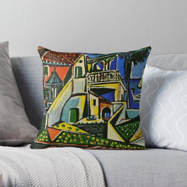 Pablo Picasso Mediterranean Landscape 1952 T Shirt, Artwork Throw Pillow