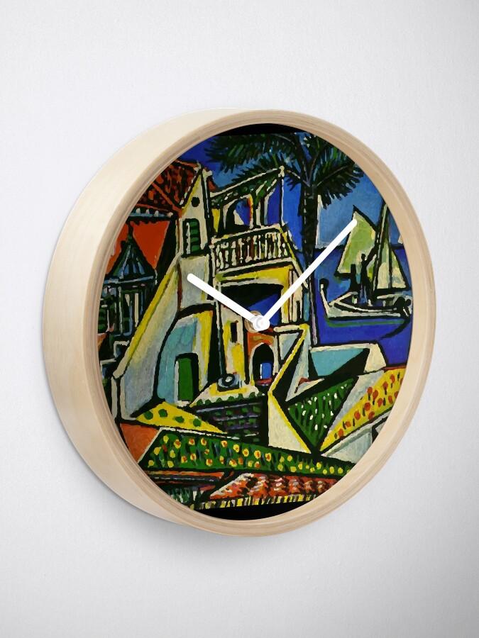 Alternate view of Pablo Picasso Mediterranean Landscape 1952 T Shirt, Artwork Clock