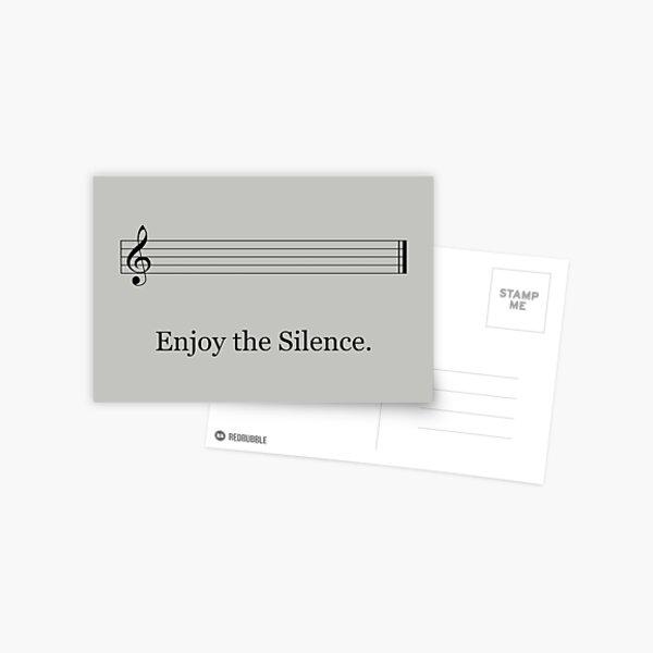 Empty Concerto Anime Piano Postcard
