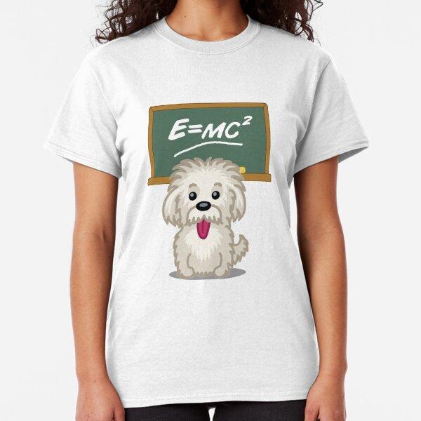 Shihtzu Shitzu Einstein dog tshirt - Dog Gifts for Shihtzu and Maltese Dog Lovers Classic T-Shirt