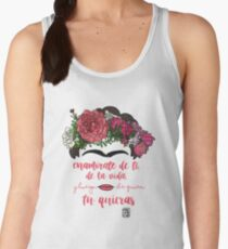 Fall in love with yourself, with life and after whoever you want Women's Tank Top