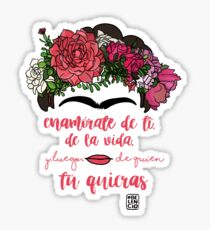 Fall in love with yourself, with life and after whoever you want Sticker
